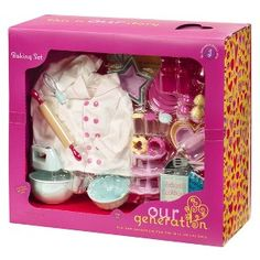 Our Generation Home Accessory - Kitchen Baking Set : Target Mobile