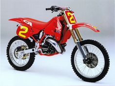 1989 Japanese Factory Honda CR250M