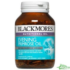 Evening Primrose Oil Capsules! These can be taken orally or burst open to apply the oil directly on the skin.