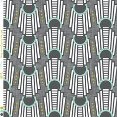 Art Deco Rings Rio De Janeiro Charcoal grey fabric by zesti for sale on Spoonflower - custom fabric, wallpaper and wall decals Wallpaper Display, Art Deco Wallpaper, Fabric Wallpaper, Art Deco Stoff, Art Deco Fabric, Modern Art Deco, Shops, Art Deco Ring, Fancy
