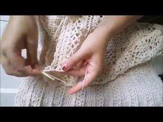 Parte 3 - Vestido Grazi Massagera Crochê - YouTube