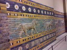 ishtar gate - babylon in the pergamon museum
