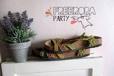 Free Ropa Party para dejar volar la ropa que ya no usas. Unas sandalias...