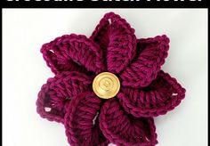 Fiore uncinetto | diLanaedaltrestorie
