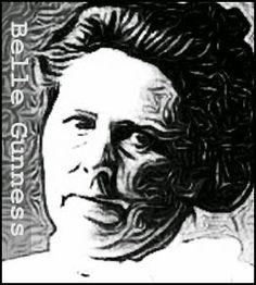 Keller On The Loose: Serial Killers: Belle Gunness http://robertkeller.blogspot.com/2015/04/serial-killers-belle-gunness.html #serialkillers #truecrime