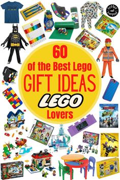 Have an ultimate lego lover in your life? Simplify Christmas shopping with this big list of 60 gifts for Lego lovers! You can find something at every price point in our big list. A gift guide for the Christmas season that you won't want to miss. #lego #legobuilders #legogifts #legoholidaygifts #legos #coffeeandcarpool #holidaygiftguides