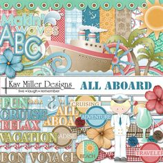 All Aboard Page Kit