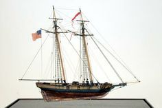 Ship model US Revenue Cutter 1815  From http://www.shipmodel.com/