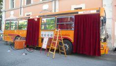 SPETTACOLI 2013 e 2015: il Teatrobus di Girovago & Rondella - teatro di figura