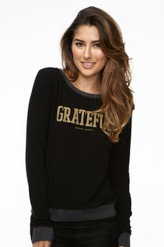 GRATEFUL SAVASANA PULLOVER BLACK | Spiritual Gangster
