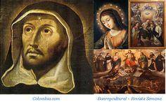 Gregorio Vásquez Arce y Ceballos ha sido considerado como el mejor pintor de la Colonia. La mayoría de sus pinturas son religiosas en naturaleza. Painting, Naturaleza, Paintings, Painting Art, Painted Canvas, Drawings