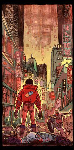 Akira by Jake Wyatt *