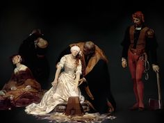 Delaroche - The Execution of Lady Jane Grey by PVBroadz, via Flickr. Created in Sketchbook Pro. Crazy.