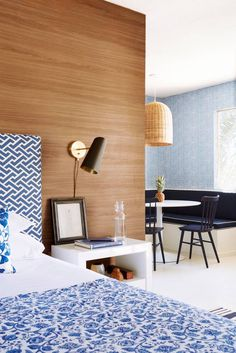 Get a peek inside the newly reimagined historical property of Holiday House Palm Springs, coming out of a fresh makeover by interior designer Mark D. Sikes. Get the full details on the mid-century hotel's modern redesign, on Domino.com.