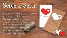 #invitation #zaproszenie #zaproszenia #zaproszenia_slubne #wedding_invitation Serce do Serca - Ciekawe i nietypowe zaproszenia ś...