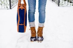 How To Style Duck Boots | theglitterguide.com