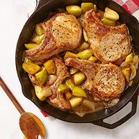 Pork Chops with Apples