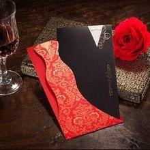 Креативный дизайн невеста и жених свадебный пригласительный билет cw3072