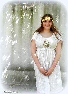 Lněné šatky Mirabellky s krajkou- babydoll střih Shabby, Girls Dresses, Flower Girl Dresses, Wedding Dresses, Clothes, Vintage, Fashion, Tall Clothing, Moda