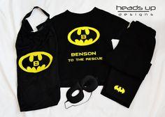 Superhero Costume Batman  Toddler Batman Cape Set by HeadsUpandUp