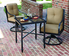 La z boy outdoor avondale seating collection canadian for Chaise 0 gravite canadian tire