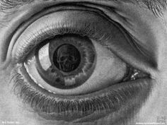 The eye is the window to the soul, but this soul has been dead a long, long time.