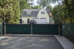 Rosie O'Donnell's home in South Nyack is pictured.