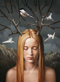 """Paper Birds"" - Steven Kenny. ☚"