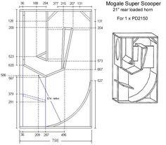 Speakerplans.com Subwoofer Box Design, Speaker Box Design, Speaker Plans, Audio, How To Plan, Speakers, Guitar, Image, Box Design