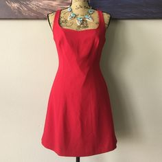 ⭐QK ️SALE⭐️ BEBE Little Red Dress  Beautiful dress by BEBE just waiting for you to take home. bebe Dresses