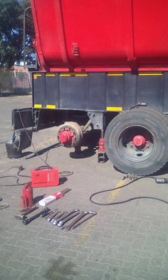 STI Trailer Repairs, Services and tipper washbay 3