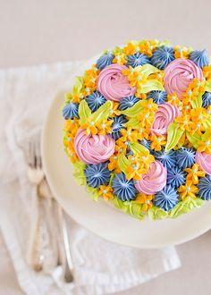 Lemon Buttermilk Layer Cake