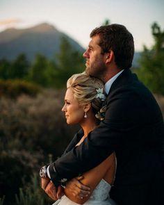 Golden Hour Wedding Couple