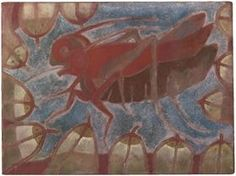 Chapulín (Grillo Con Peces) - Francisco Toledo