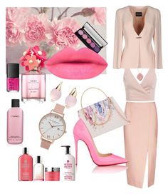 """This summer is pink "" by fashionbeautystyl on Polyvore featuring C/MEO COLLECTIVE, Ted Baker, Molton Brown, Christian Louboutin, NARS Cosmetics, MAC Cosmetics, Marc Jacobs, Pomellato, Piranesi and Giorgio Armani"