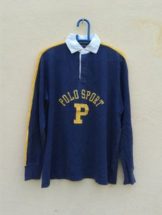 Vintage Polo Sport Ralph Lauren Rugby Shirt by sixstringent, $59.90