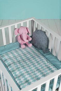 Jollein boxkleed *Wafel vintage* - BellyBloz - Baby & zwangerschap artikelen Vintage, Toddler Bed, Furniture, Home Decor, Building, Play Gym, Gaming, Accessories, Child Bed