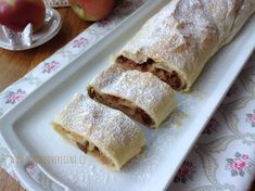 Sweet Bar, Strudel, Sweet Tooth, Food And Drink, Yummy Food, Sweets, Bread, Cooking, Ethnic Recipes