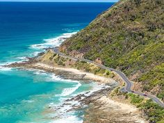 This is the view you get of the Great Ocean Road in Victoria if you make your way to Teddys Lookout near Lorne. Such a great spot to take in some stunning scenery. #ScenicGemsAustralia. . . . . . . . . . #seeaustralia #jollyswagman #fiftyshades_of_nature #instagood #photooftheday #picoftheday #instadaily #igdaily #igers #backpacker #familiesontheroad #holidaywithkids #australia #australiagram #ig_australia #loveaustralia #australiatravels #roadtrip #camping #naturelovers…