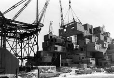 Moishe Safdie, Habitat '67, 1967.