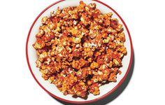 Buffalo Wing Popcorn via Bon Appetit