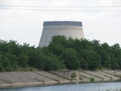 Chernobyl water cooling tower