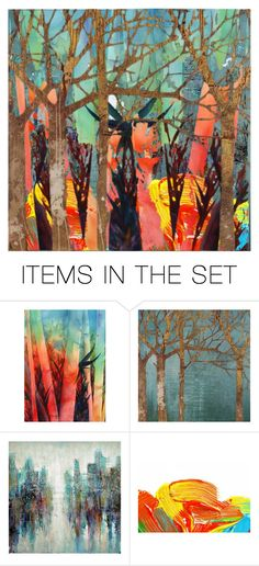 """""""The Forest"""" by beanpod ❤ liked on Polyvore featuring art"""