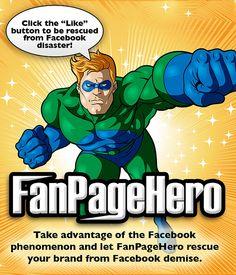 FanPageHero Facebook Landing Tab