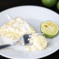 Coconut lime cake with tequila lime glaze is a simple and sophisticated take on a Cinco de Mayo dessert. Superbowl Desserts, Fun Desserts, Delicious Desserts, Yummy Food, Yummy Recipes, Coconut Lime Cake, Lemon Curd Cake, Food Plus, Food Obsession