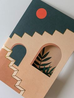 Behance :: For You canvas art Staircases & Archways- Pop-Up Boxed Notes Small Canvas Paintings, Easy Canvas Art, Small Canvas Art, Cute Paintings, Mini Canvas Art, Acrylic Painting Canvas, Diy Canvas, 3 Canvas Painting Ideas, Cavas Painting