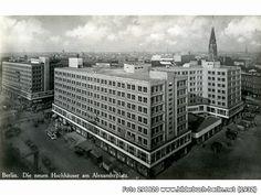 DieneuenHochhäuseramAlexanderplatz, Berlin (1932)