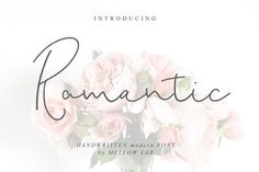 Romantic Script by Mellow Design Lab on #creativemarket #ad