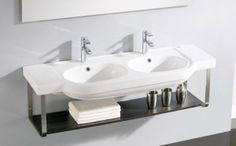 Hannover 130 Bathco umywalka ceramiczna 1320x485x185 - H1006    https://hansloren.pl/