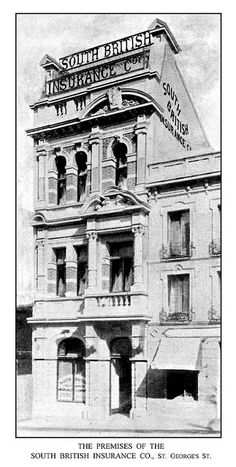 The Premises of the South British Insurance Co., St. George's Street by HiltonT, via Flickr